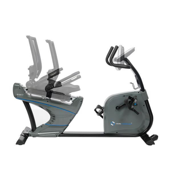 R1817 RECUMBENT MAGNETIC BIKE WITH GENERATOR SYST..