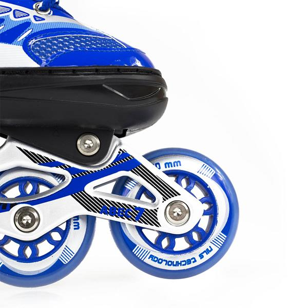 NJ1828 A BLUE SIZE S IN-LINE SKATES NILS EXTREME