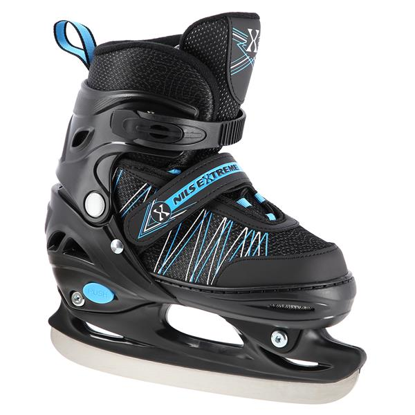 NH11912 A 2IN1 BLACK/BLUE SIZES(31-34) IN-LINE SKA..