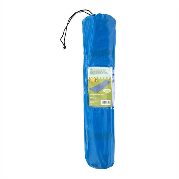 NC4001 BLUE SELF-INFLATING MAT WITH A PILLOW NILS..