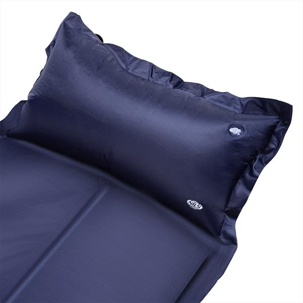 NC4008 BLUE SELF-INFLATING MAT WITH A PILLOW NILS..