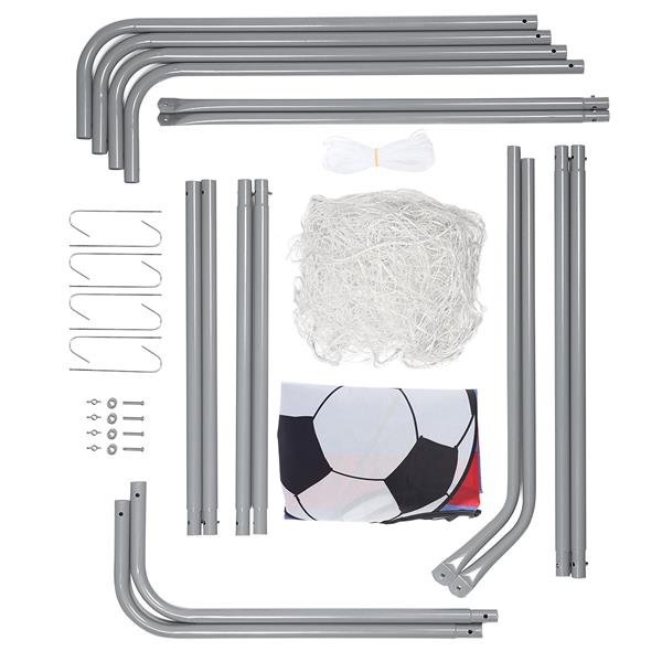 NT7788 2in1 SOCCER GOAL WITH NET AND TARGET PANEL..