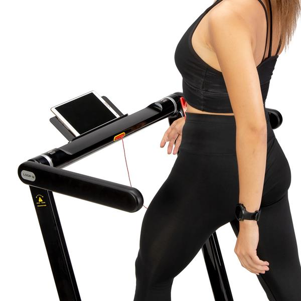LOOP12 MULTI BLACK ELECTRIC TREADMILL WITH TABLE ..