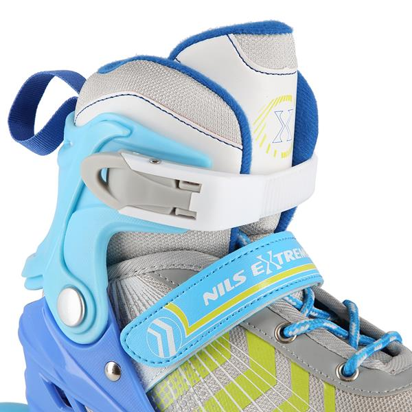NH18192 4IN1 BLUE SIZE M(34-38) IN-LINE SKATES/HO..
