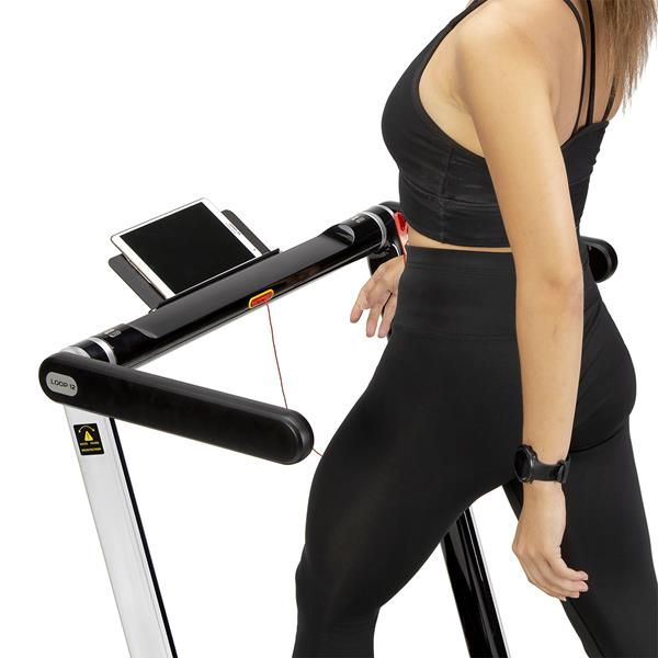LOOP12 MULTI GRAY ELECTRIC TREADMILL WITH TABLE H..