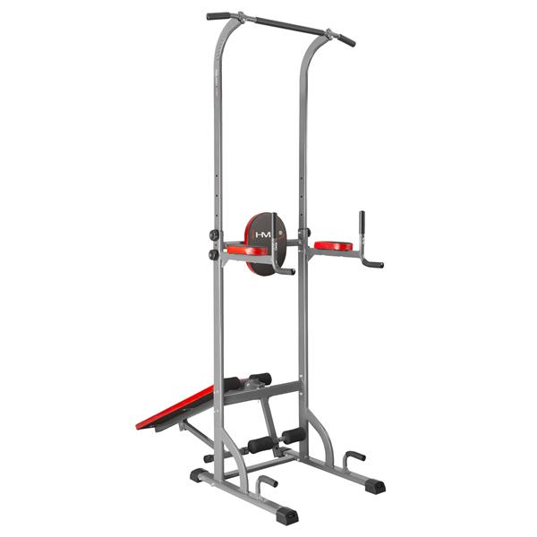 PWL2521 MULTIFUNCTIONAL PULL UP DEVICE WITH BENCH HMS