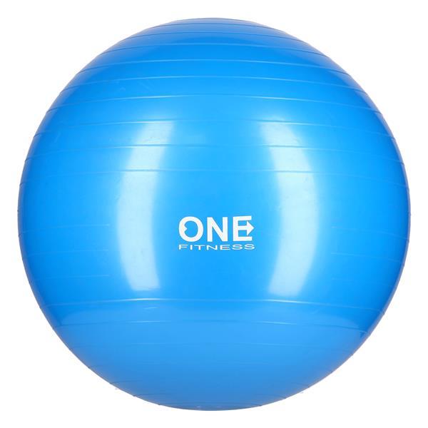GYM BALL 10 55CM ONE (blue)