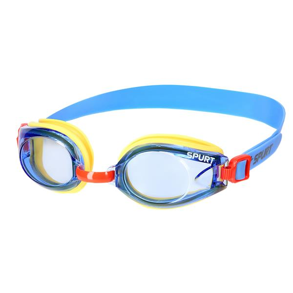 J-2 AF YELLOW SWIMMING GOGGLES SPURT