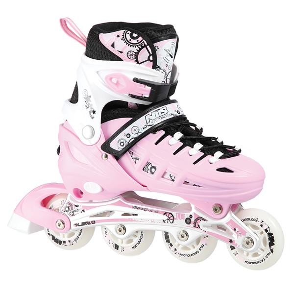 NH10905 4in1 PINK SIZE L(39-42) INLINE/ICE-SKATES..