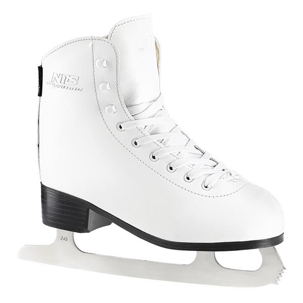 NF8565 S WHITE SIZE. 38 FIGURE ICE SKATES NILS EX..