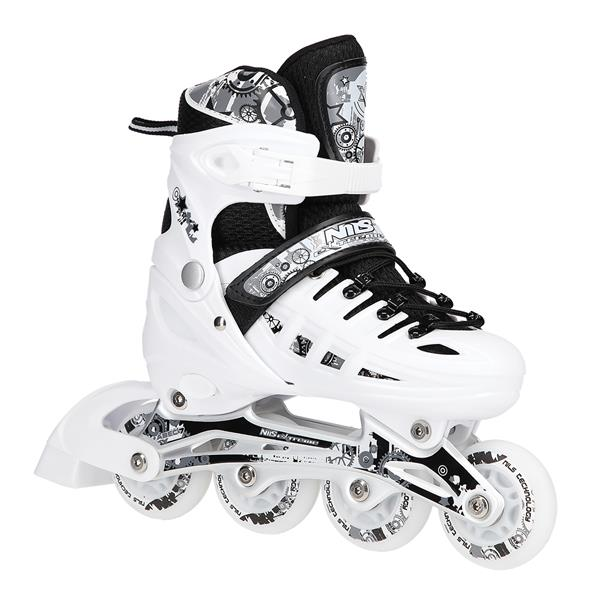 NH10905 4in1 LED SIZE M(35-38)  INLINE/ICE-SKATES..