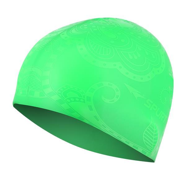 G-TYPE WOMAN SE24 GREEN SWIMMING CAP SPURT
