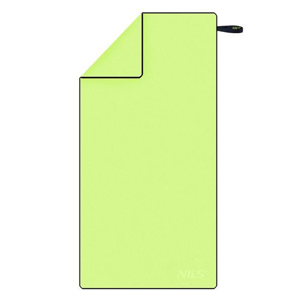 NCR11 GREEN-BLACK MICROFIBRE TOWEL 140x70 NILS CA..
