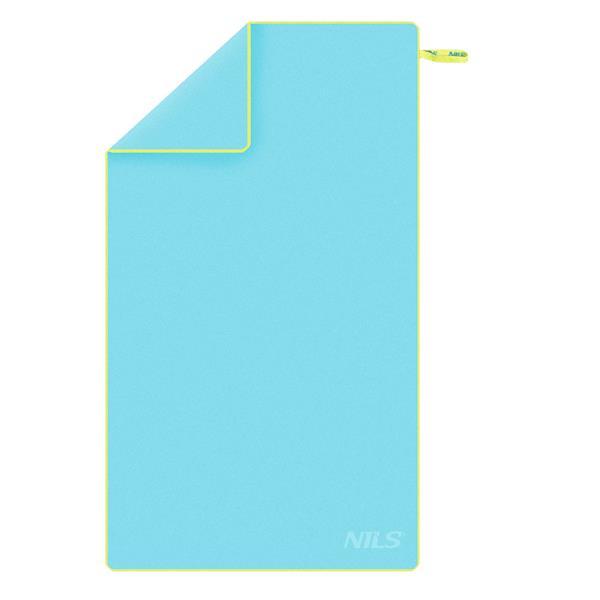 NCR12 BLUE-GREEN MICROFIBRE TOWEL 180x100 NILS CA..