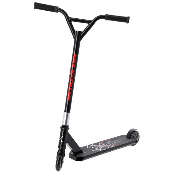 HS104 BLACK-RED  SCOOTER NILS EXTREME