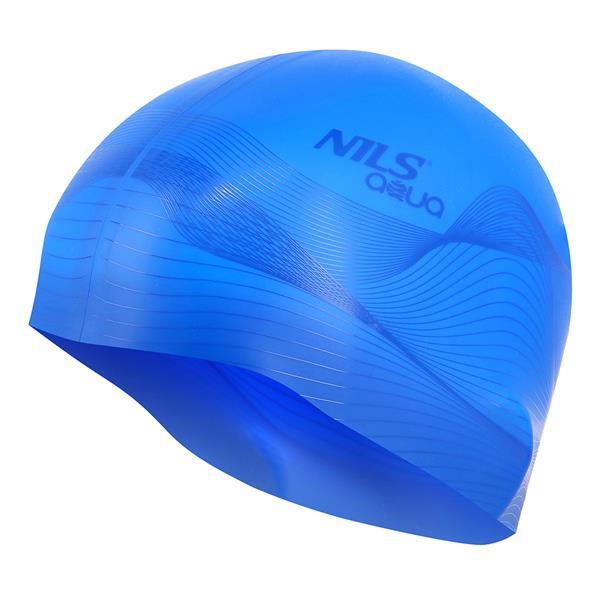 G-TYPE MEN F206 BLUE SWIMMING CAP NILS AQUA