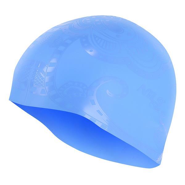 G-TYPE WOMAN F224 BLUE SWIMMING CAP NILS AQUA