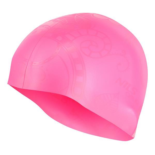 G-TYPE WOMAN SC16 PINK SWIMMING CAP NILS AQUA
