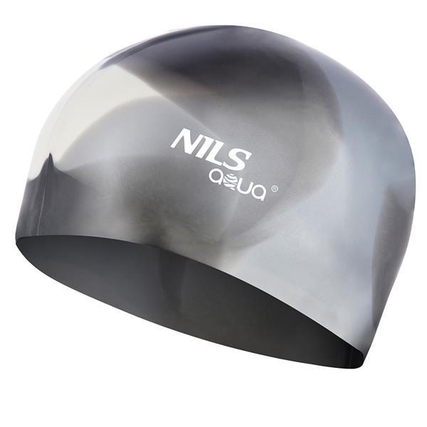 SILICONE MULTICOLOR MX20 SWIMMING CAP NILS AQUA