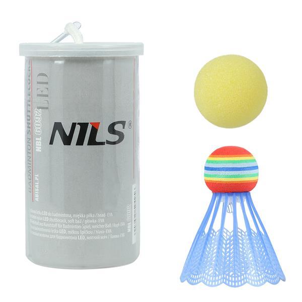 NBL6092 NYLON SHUTTLECOCKS LED 1 PCS. WITH THE BALL NILS