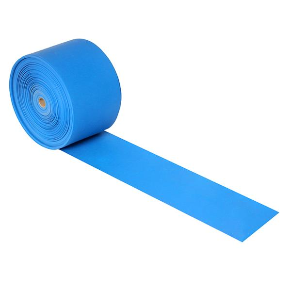 RB01 EXERCISE BAND IN ROLL HMS (light blue) 50m x 150mm x 0.8