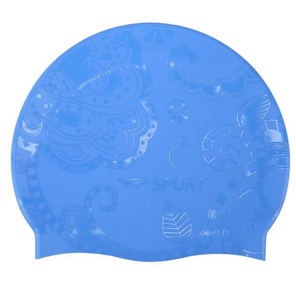 G-TYPE WOMAN F224 BLUE SWIMMING CAP SPURT