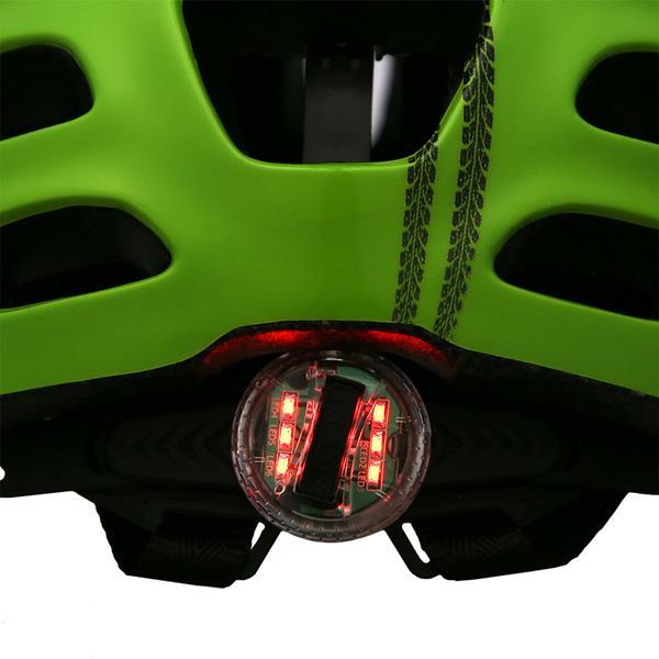 MTW01 LED GREEN SIZE S (48-52 cm) HELMET NILS EXTREME